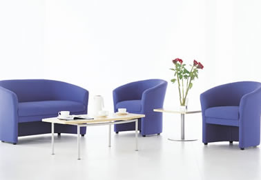 office reception seating