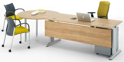 Core Office Furniture Aberdeen And Office Chair Manufacturer Senator - Desk with conference table