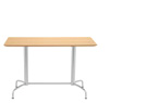 Scoop rectangular Table